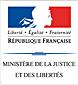 Logo ministère justice libertés