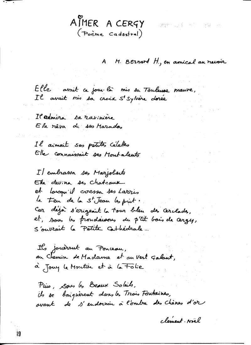 N18P019 poème cadastral
